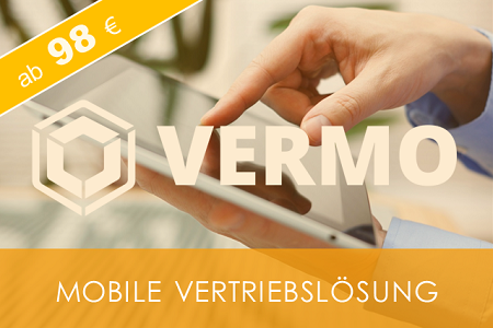 VERMO Mobile Vertriebslösung ab 98 EUR